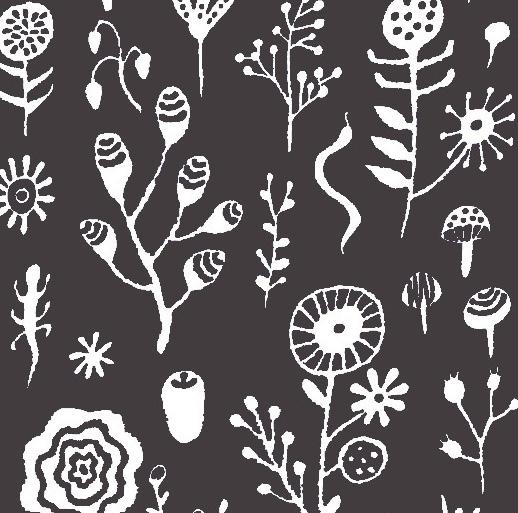 植物グレーイメージ
